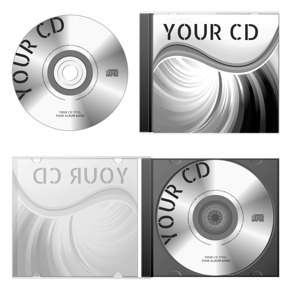 cd design brochure back cover delivery print