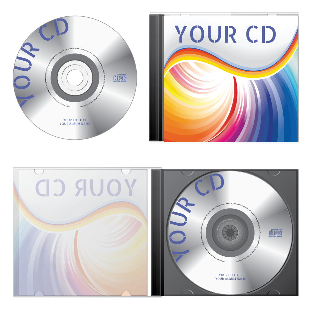 cd design brochure back cover delivery print